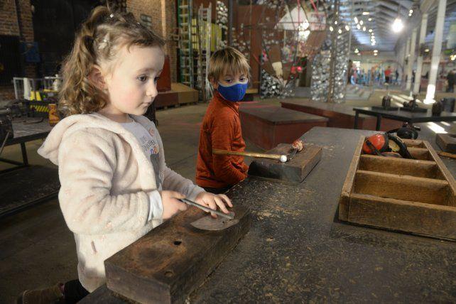 La oferta de actividades para niños fue muy variada y potenció el movimiento en la ciudad