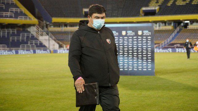 Germán Burgos: No creo que haya sido el peor partido desde que estoy