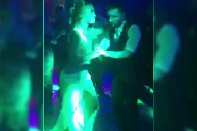 La respuesta. Leo Messi también publicó su video en las redes bailando con Antonela.