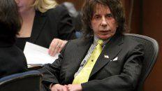 el polemico productor phil spector murio mientras purgaba una condena en la carcel