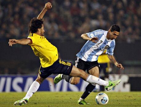 Angelito se vistió de Messi hasta la expulsión de Higuaín y fue el alma del equipo. (Foto: Reuters)