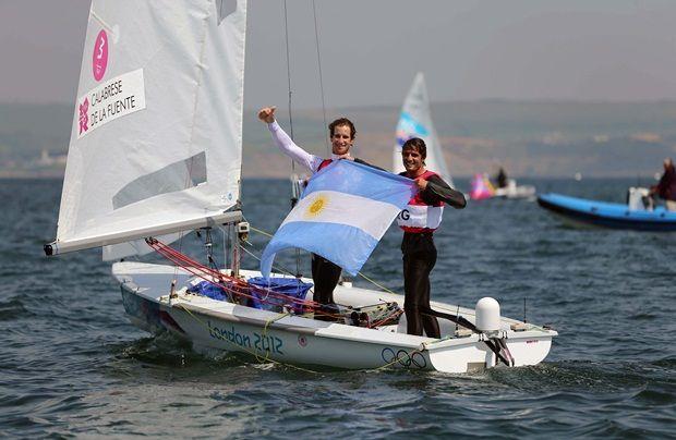 Yachting: De la Fuente y Calabrese se quedaron con el bronce