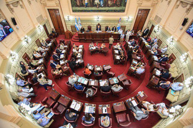 Despunta un intenso debate en la Cámara baja provincial.