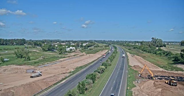 Autopista Brigadier López. El tramo a iluminar es desde el kilómetro 146 al 154.