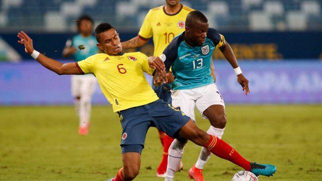 Con gol de Edwin Cardona, Colombia derrotó a Ecuador en su arranque de Copa América