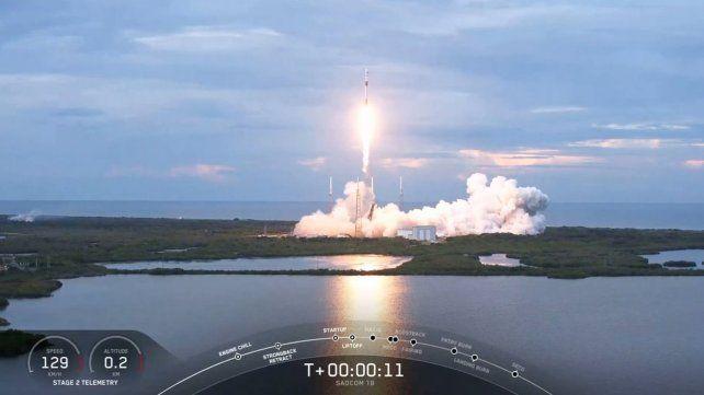 El satélite argentino Saocom 1B despegó con éxito en Cabo Cañaveral