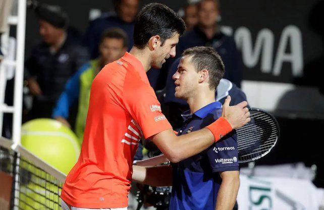 Roma. El Peque enfrentará aDjokovic a las 12 y con televisación de ESPN.