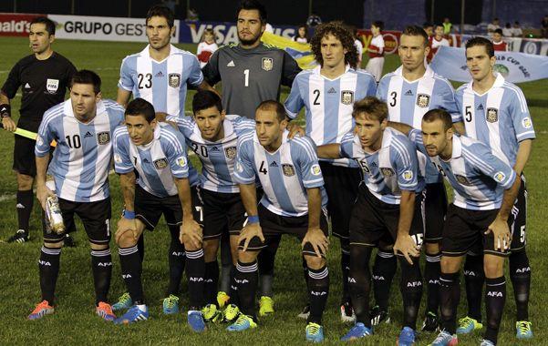 1ª en Sudamerica. La selección fue nominada por el ranking de la Fifa.