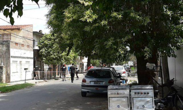 El lugar donde los jóvenes fueron atacados. (Foto: gentileza Conclusión.com.ar)