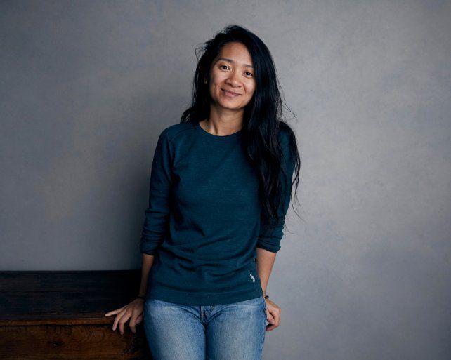 La directora Chloé Zhao.