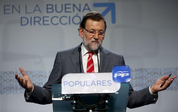 Sin sonrisas. Mariano Rajoy admitió que los resultados no fueron buenos. Pero el PP sigue siendo el preferido.