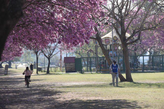 En parque Independencia