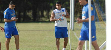 Central: en el tercer día de práctica volvió el colombiano Arzuaga