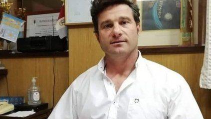 Natalio Lattanzi, el intendente de Rufino.