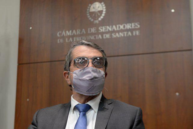 El senador Armando Traferri afirma que tiene fueros legislativos.