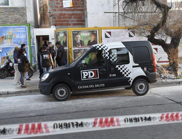 El crimen del arquitecto sucedió ayer por la tarde en barrio Bella Vista. (Foto: H. Rio)