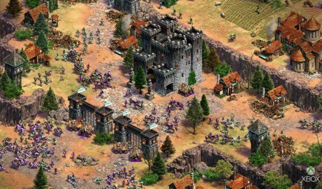 Los gamers esperan el inminente estreno del juego Age of Empires IV