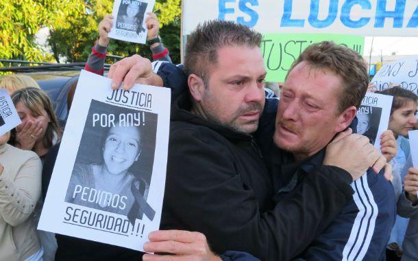 Dolor. El crimen de Any motivó varias marchas reclamando justicia.