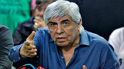 Moyano hizo una demostración de optimismo electoral.