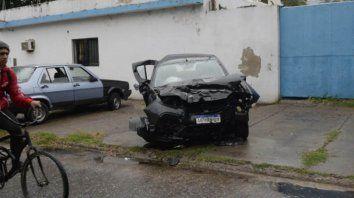 El conductor del Renault Sandero, según testigos, corría a gran velocidad por avenida del Rosario junto a otro vehículo, cuyo conductor también fue detenido.