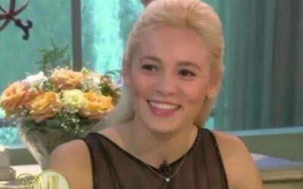 La novia de Diego Maradona estuvo en la mesa de Mirtha. (Captura de TV)