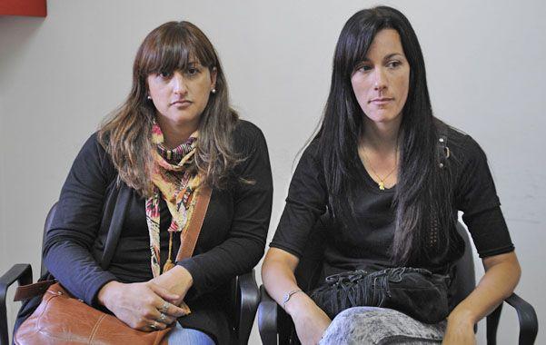 Ellas buscan. Jorgelina y Nadia