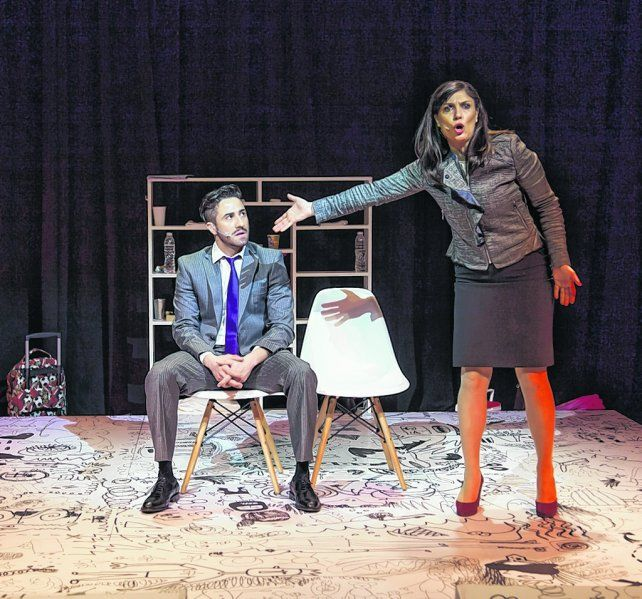 Conflicto. Mariano Chiesa y Natalia Cociuffo interpretan a los padres de chicos con cualidades únicas.
