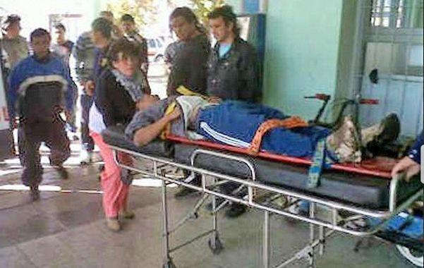 Trasladados. Los heridos fueron atendidos en su mayoría en el Samco de Santo Tomé con traumatismos y heridas.