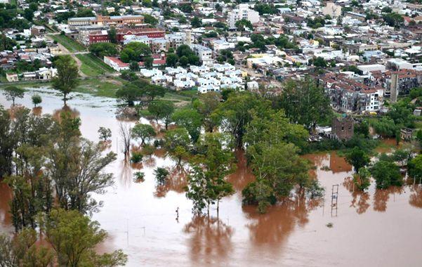 asistencia. Gran cantidad de habitantes aún necesitan la ayuda del Estado para sobrellevar el impacto del agua.