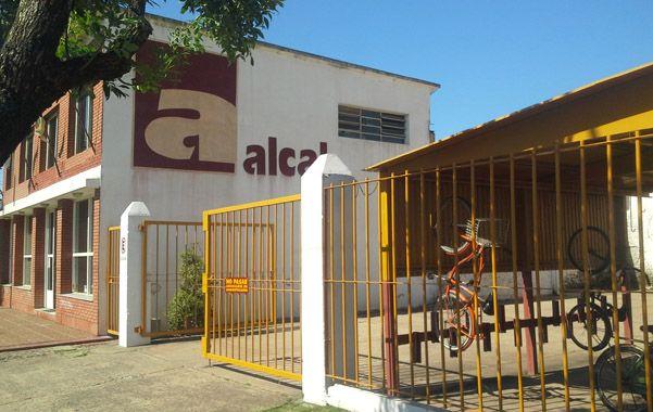 Sin actividad. La planta de implementos agrícolas Alcal.