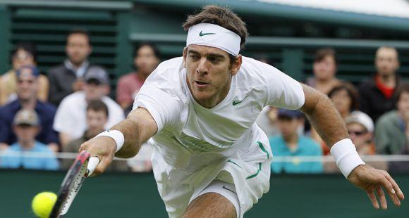 Del Potro, Chela y Nalbandian debutaron con victorias en la primera ronda de Wimbledon