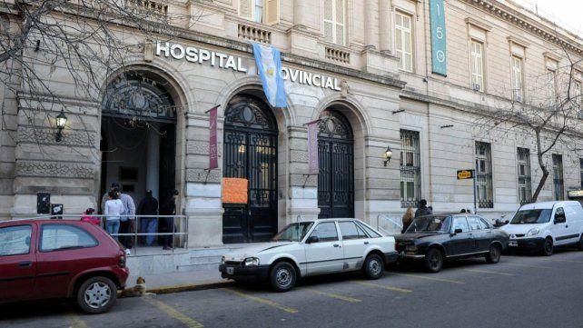 Agradecimiento al Hospital Provincial
