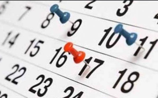 Los feriados y días no laborables que quedan para el resto del año