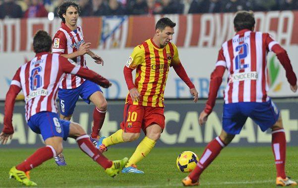 Messi será la manija del equipo culé que intentará llevarse la Liga.