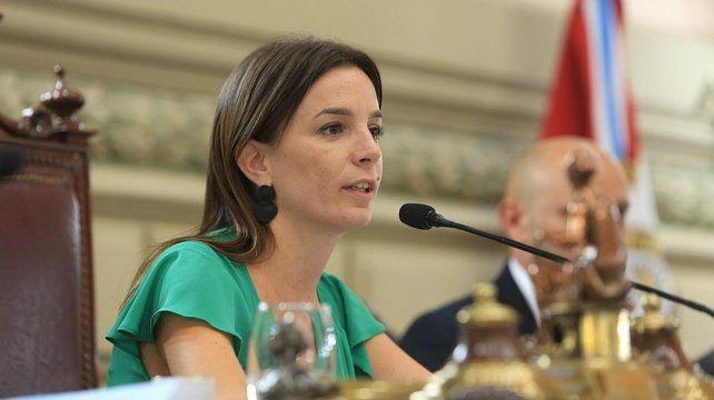 De Ponti, vicepresidenta primera de Diputadas y Diputados.