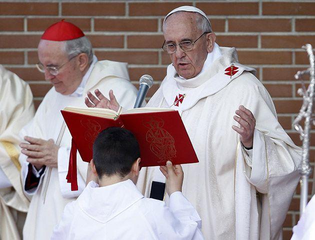 """Bergoglio agregó que los corruptos """"son un peligro también para los cristianos"""