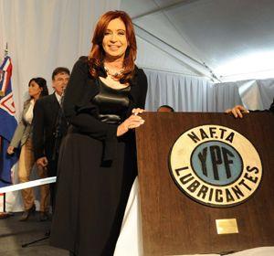 Cristina Fernández estuvo presente en un acto en Esteban Echeverría.
