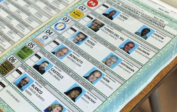 El sistema de boleta única debutó en el turno electoral provincial del año pasado.