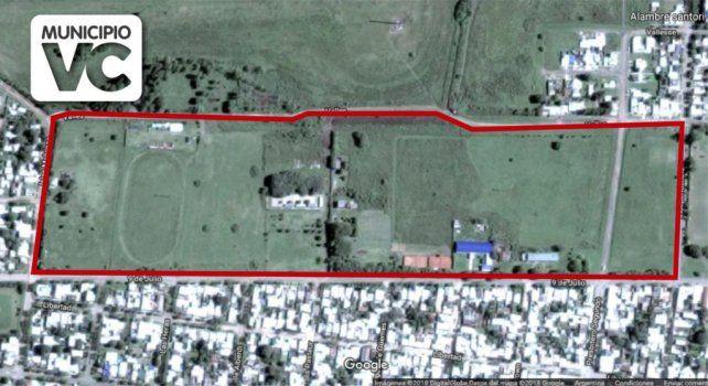 El predio tiene algo más de 19 hectáreas que ahora se podrán urbanizar.