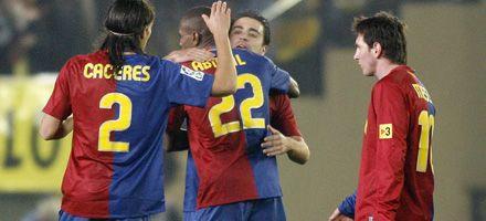 Barcelona le ganó al Villarreal y le sacó diez puntos de diferencia a Sevilla