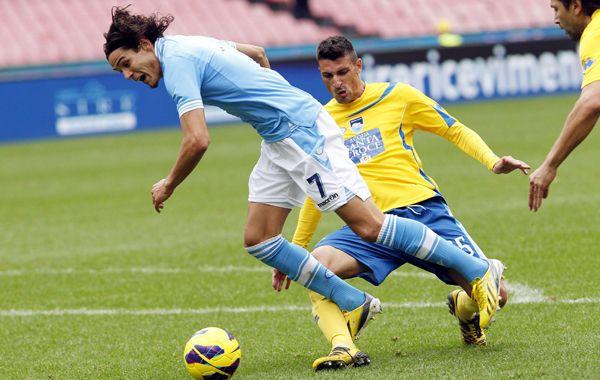 Los napolitanos quedaron a dos puntos del líder del calcio.