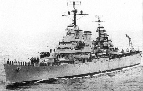 Crucero Ara General Belgrano. Allí murieron 323 marinos argentinos.