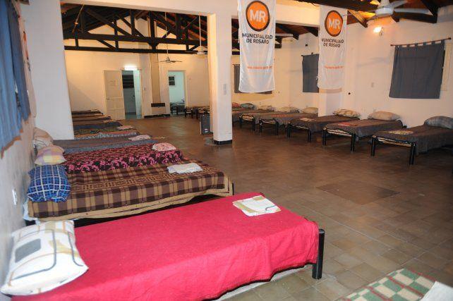 Preparado. El refugio municipal está ubicado en Grandoli 3450.