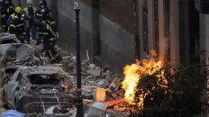 murieron tres personas en la explosion en el centro de madrid