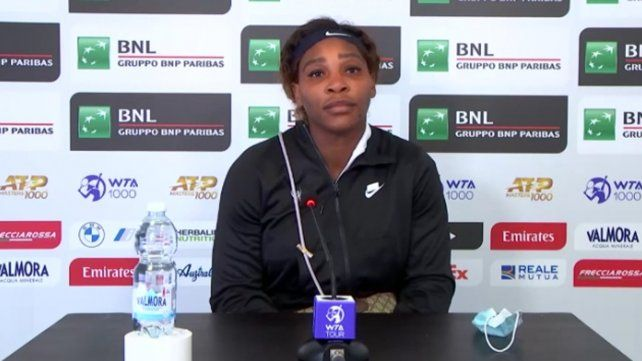 La incómoda respuesta de Serena Williams cuando le preguntaron por la Peque Podoroska en Roma