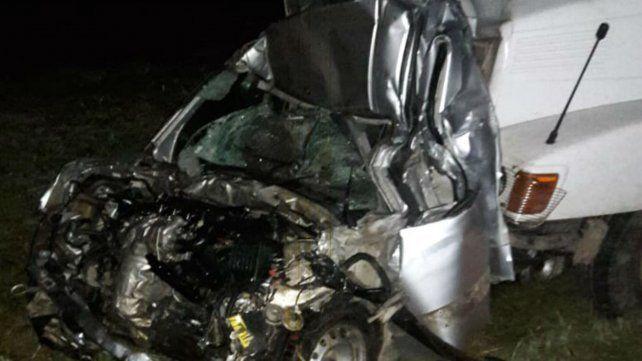 Un muerto en un  choque múltiple en la autopista a Córdoba