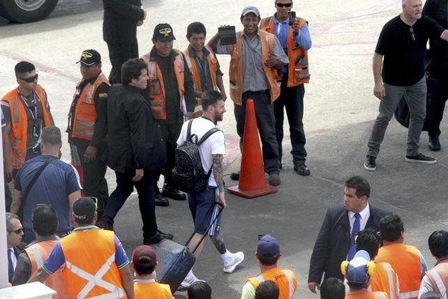 Una sorpresiva sanción de Fifa dejó sin chances de ver a Messi ante Bolivia en 2017.