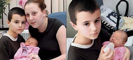 Conmueve a Gran Bretaña el caso de un niño de 13 años que fue padre