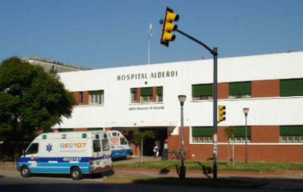 El taxista falleció en el Hospital Alberdi