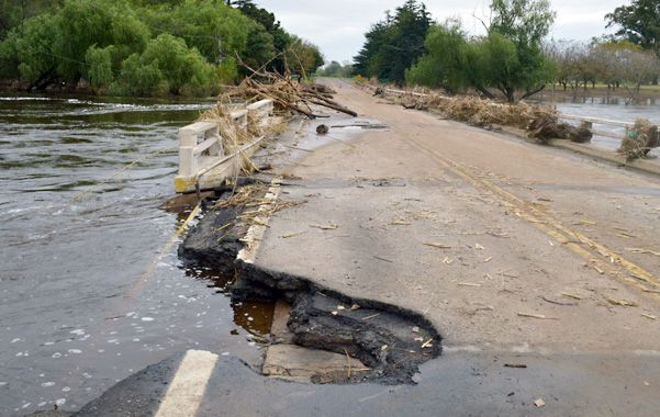 Urgencia. Los daños sufridos por el puente son graves y se requerirán medidas rápidas y de fondo para superar la coyuntura.